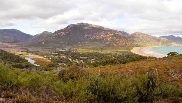 Overlooking Tidal River Wilsons Prom - Robin Williams