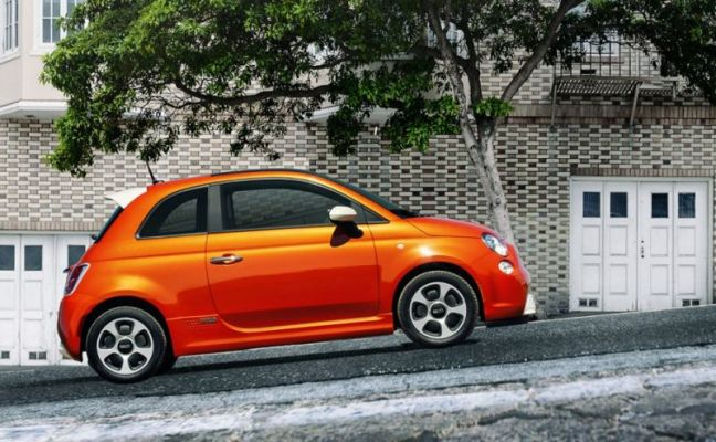 2017 Fiat 500e electric car