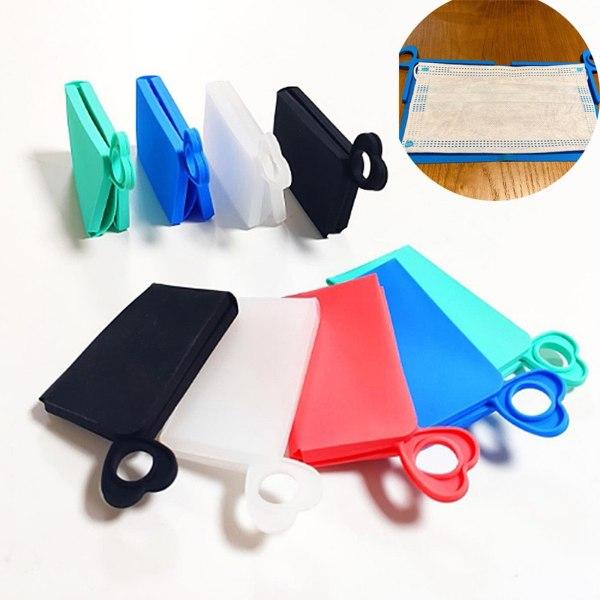Portable Facemask Holder - Waterproof Mask Cover Bag