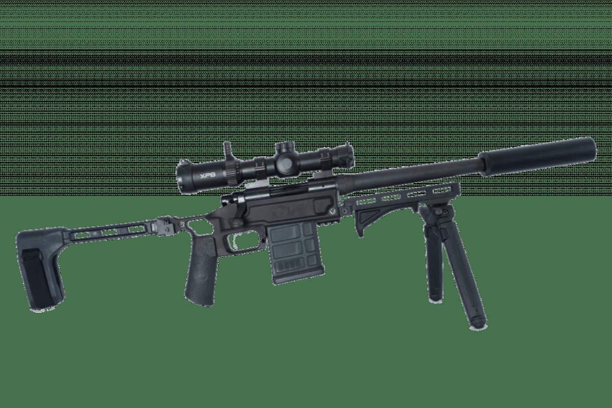 Black Collar Arms Pork Sword Pistol complete right