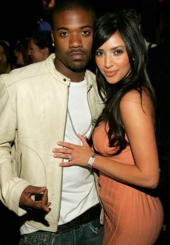 Ray J and Kim Kardashian four years after filming sex tape at Charlotte Ronson 2006 Fall/Winter Fashion Show and After Party