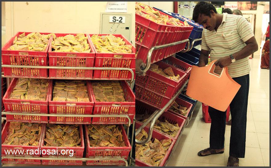 vibhuti at sathya sai stores