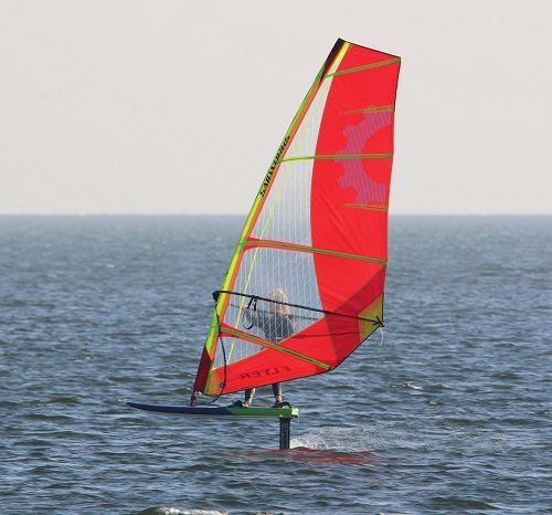 foiling with sailworks flyer