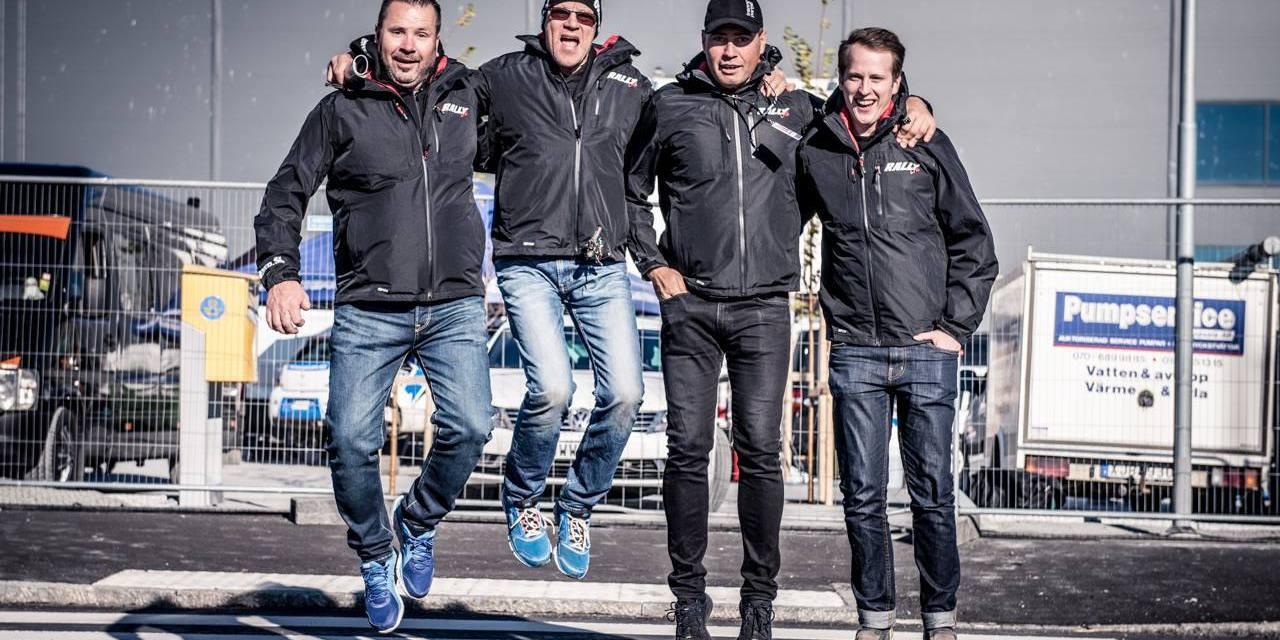 Följ SM-Finalen Rally Uppsala i Rallyradion