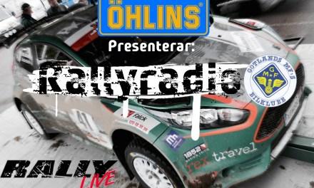 Så följer du Rally Gotland via Rallyradion