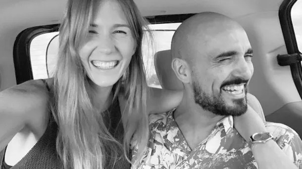 Mora Calabrese y Abel Pintos están felices por la maternidad y la paternidad que se viene