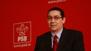 Victor Ponta,elected the president of the Social-Democrat Party/Foto: REALITATEA.NET