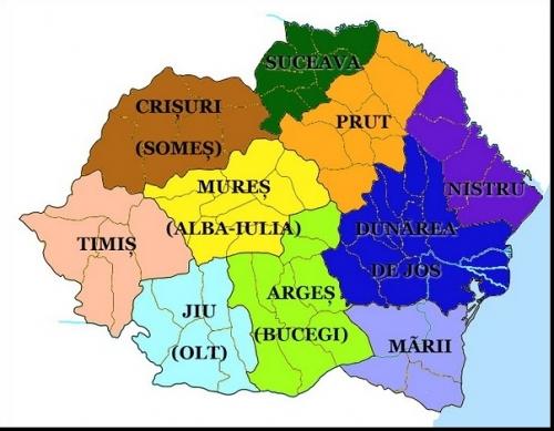 Cum a impartit Romania  Carol