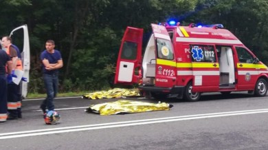Accident ingrozitor in Calarasi