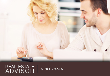 Real Estate Advisor: March 2016