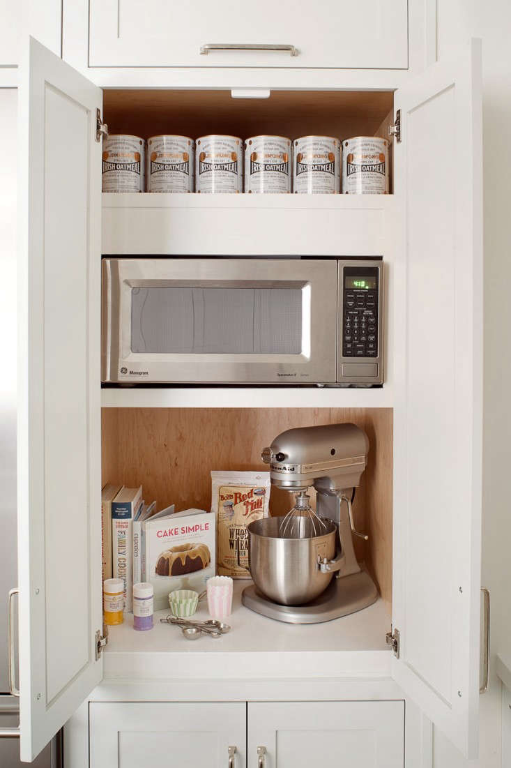 11 strategies for hiding the microwave