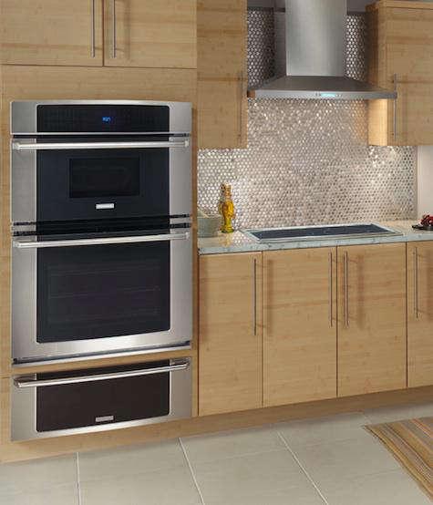 range microwave oven combo