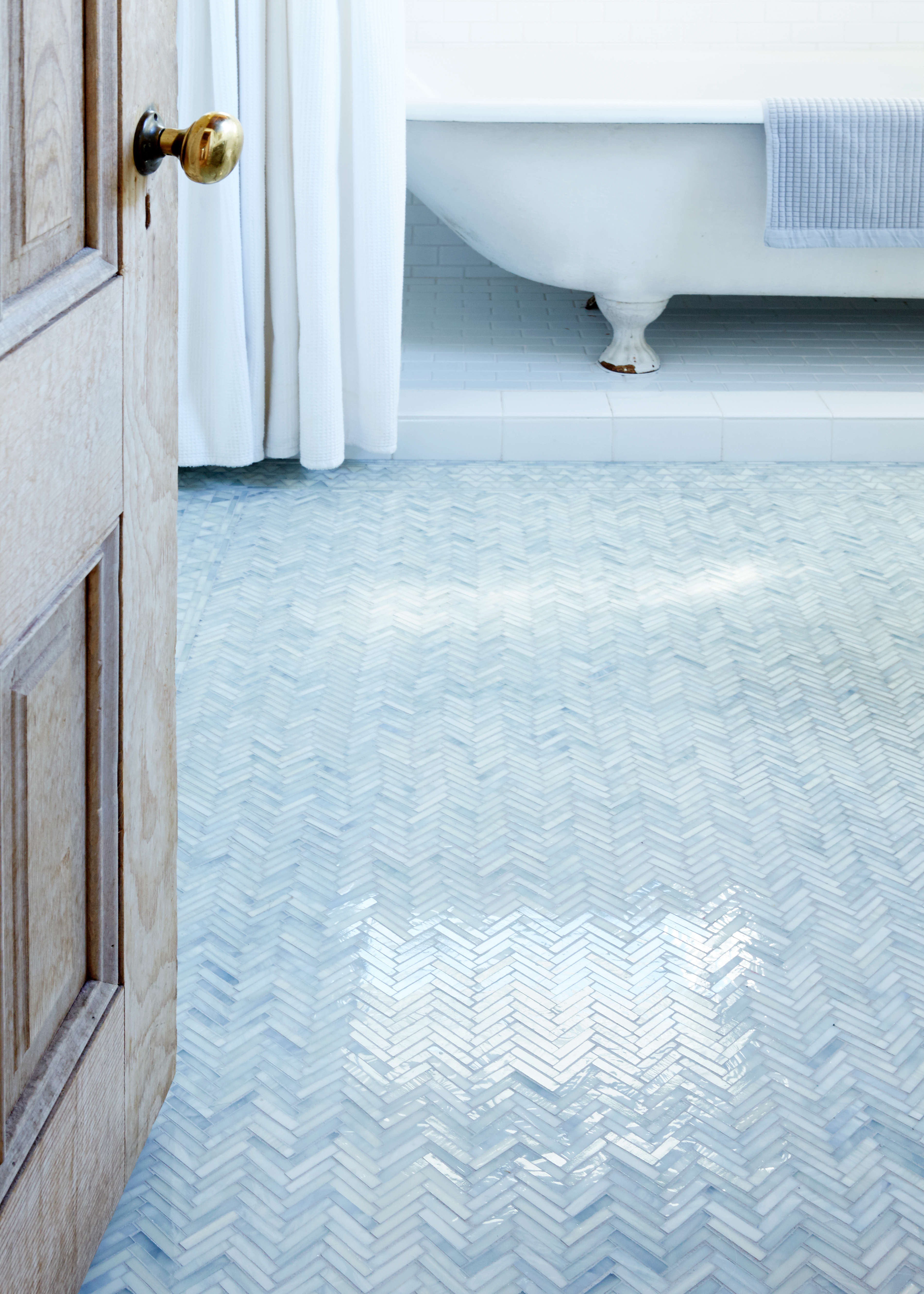 bathroom of the week an artist made mosaic tile floor start to finish remodelista