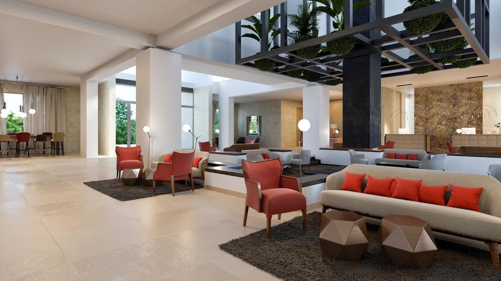 HDA hotel lobby