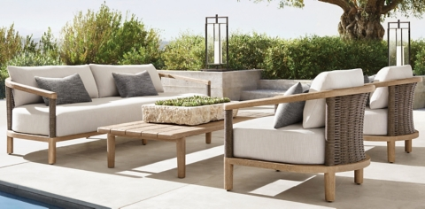 isla furniture collection weathered