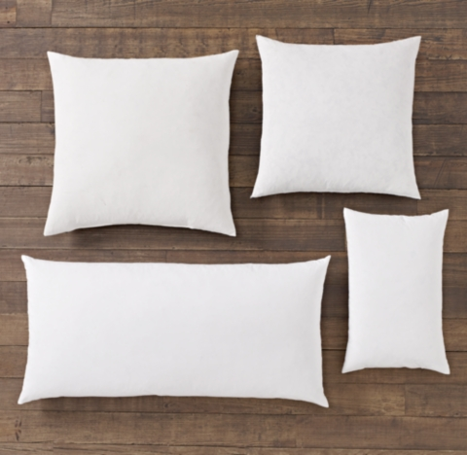 pillow inserts rh