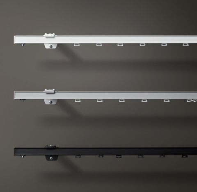 custom standard track hardware