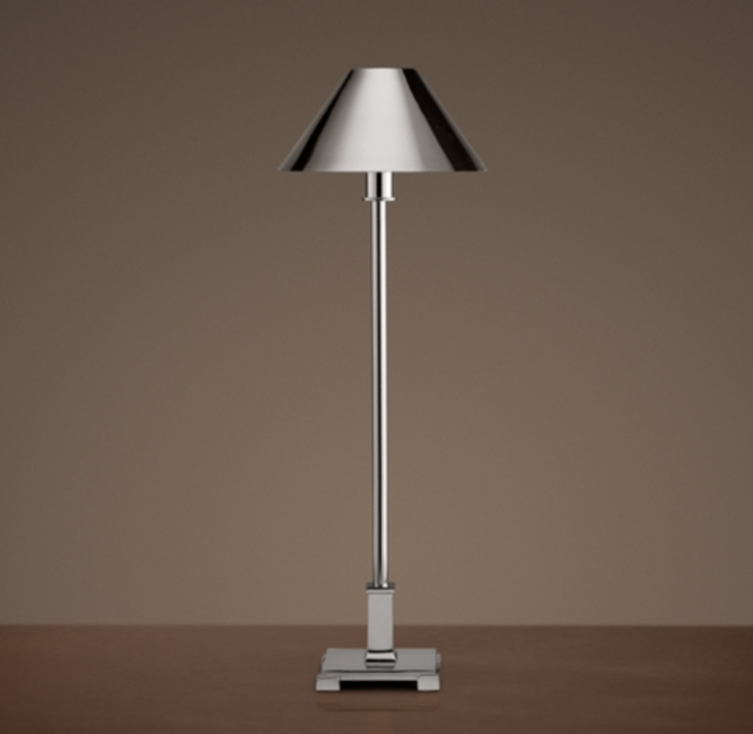 Vintage Aluminum Lamp Shade