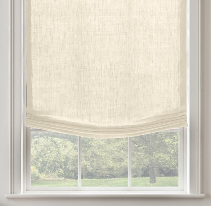 Linen Roman Shade