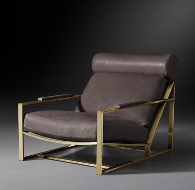 Milo Baughman Model 3418 1965 Leather Chair
