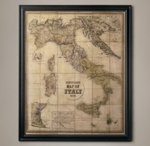 Stanford s 1859 Map of Italy