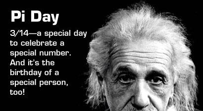 Grattis på födelsedagen Albert Einstein!