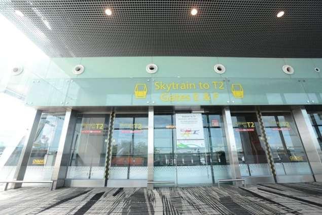 Skytrain face legatura intre terminale