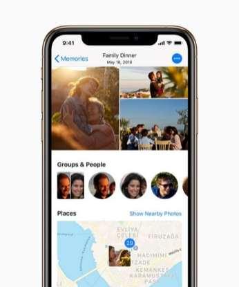 iPhone XS photoscreen