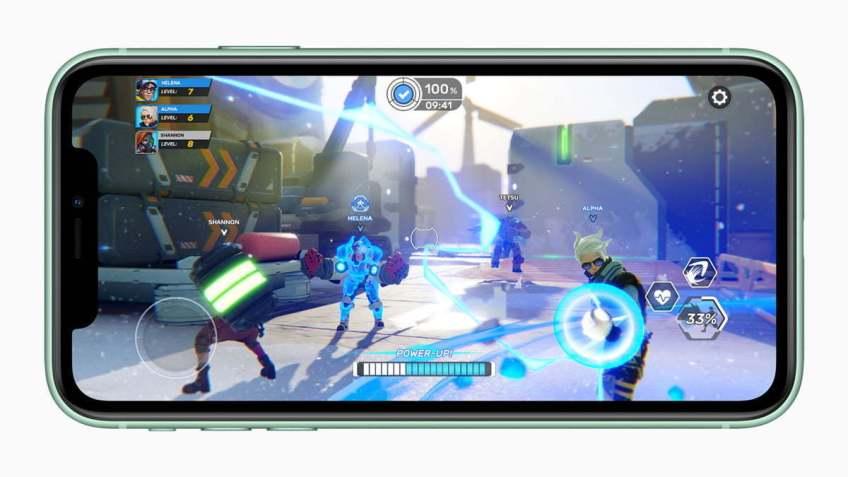 iPhone 11 - joc demo
