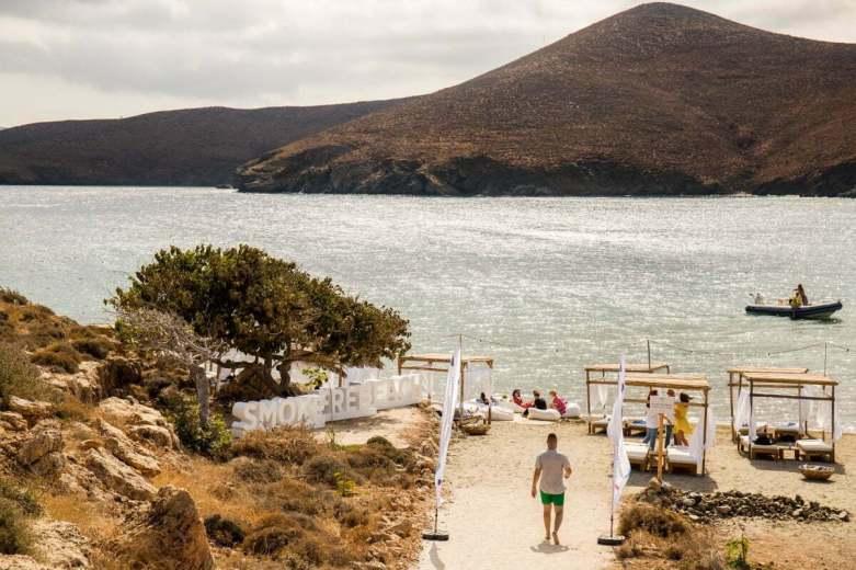 Plaja smoke-free de la Steno Bay