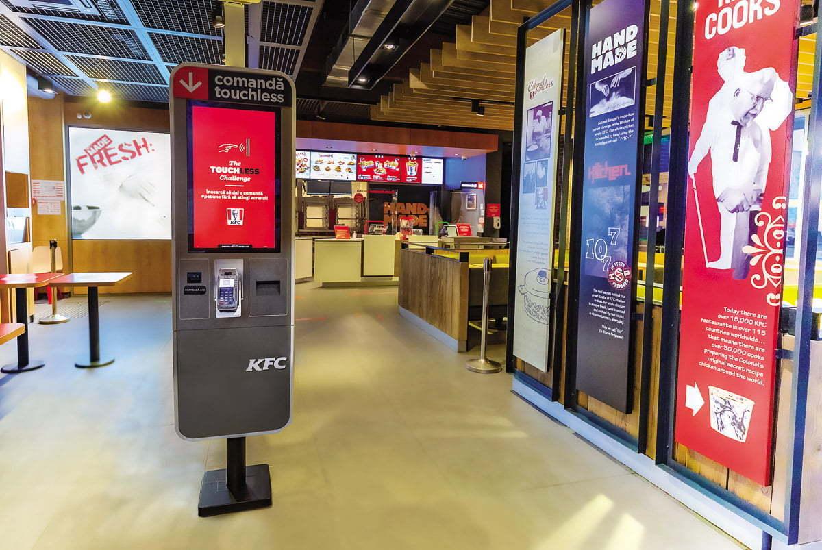 KFC-kiosk-touchless