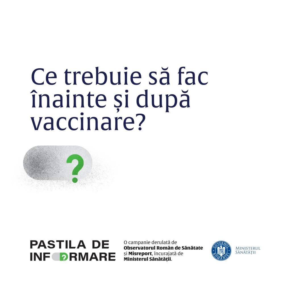 Putem să consumăm un păhărel, pentru curaj, înainte de vaccinare? Răspunsul ministerului sănătății