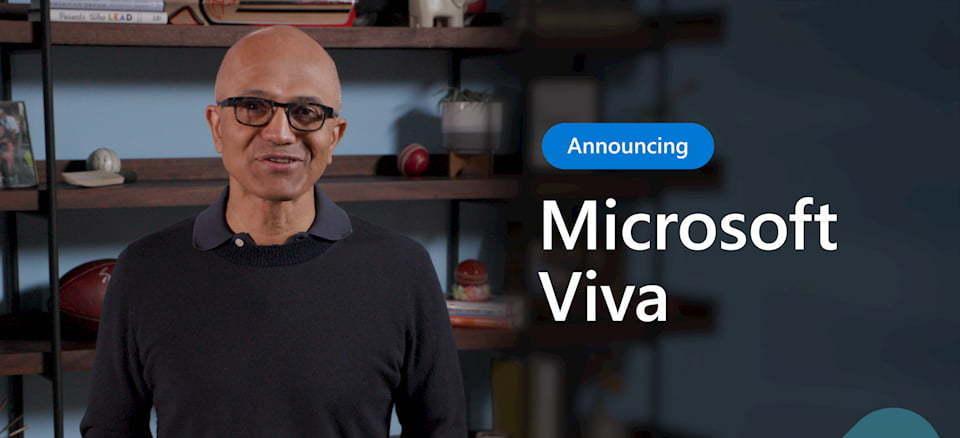 Satya Nadella-Microsoft Viva