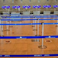 aeroportul Ben Gurion Tel Aviv in contextul coronavirus Avshalom SassoniFlash90