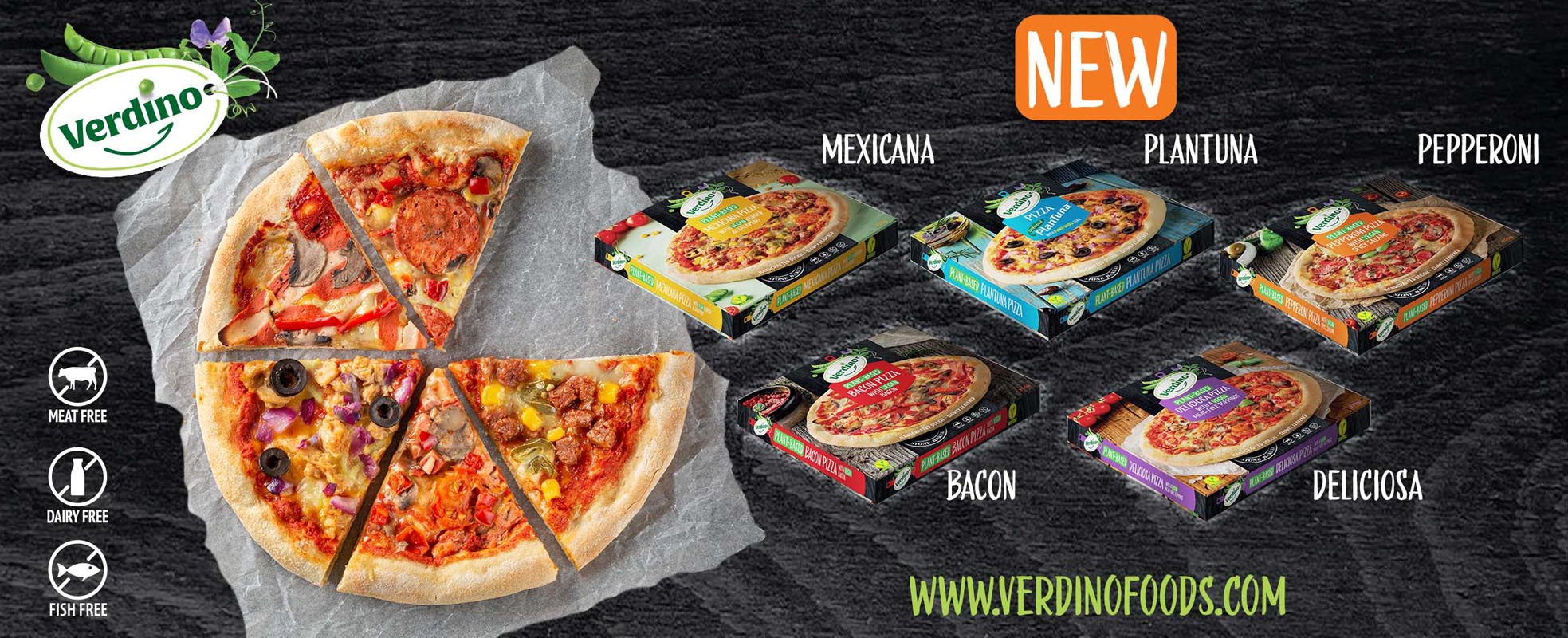 Verdino-pizza plant-based
