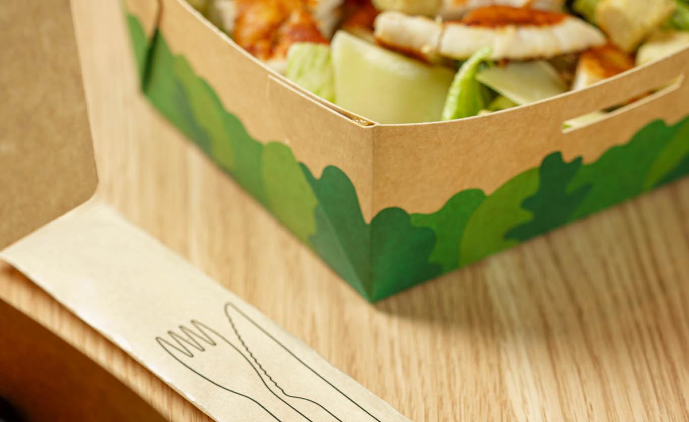McDonald's-ambalaj salata