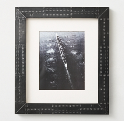 Industrial Metal Wrapped Frame Iron