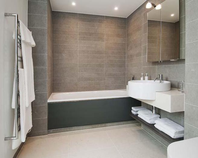 Modern Beige Bath Design Ideas, Photos & Inspiration ...