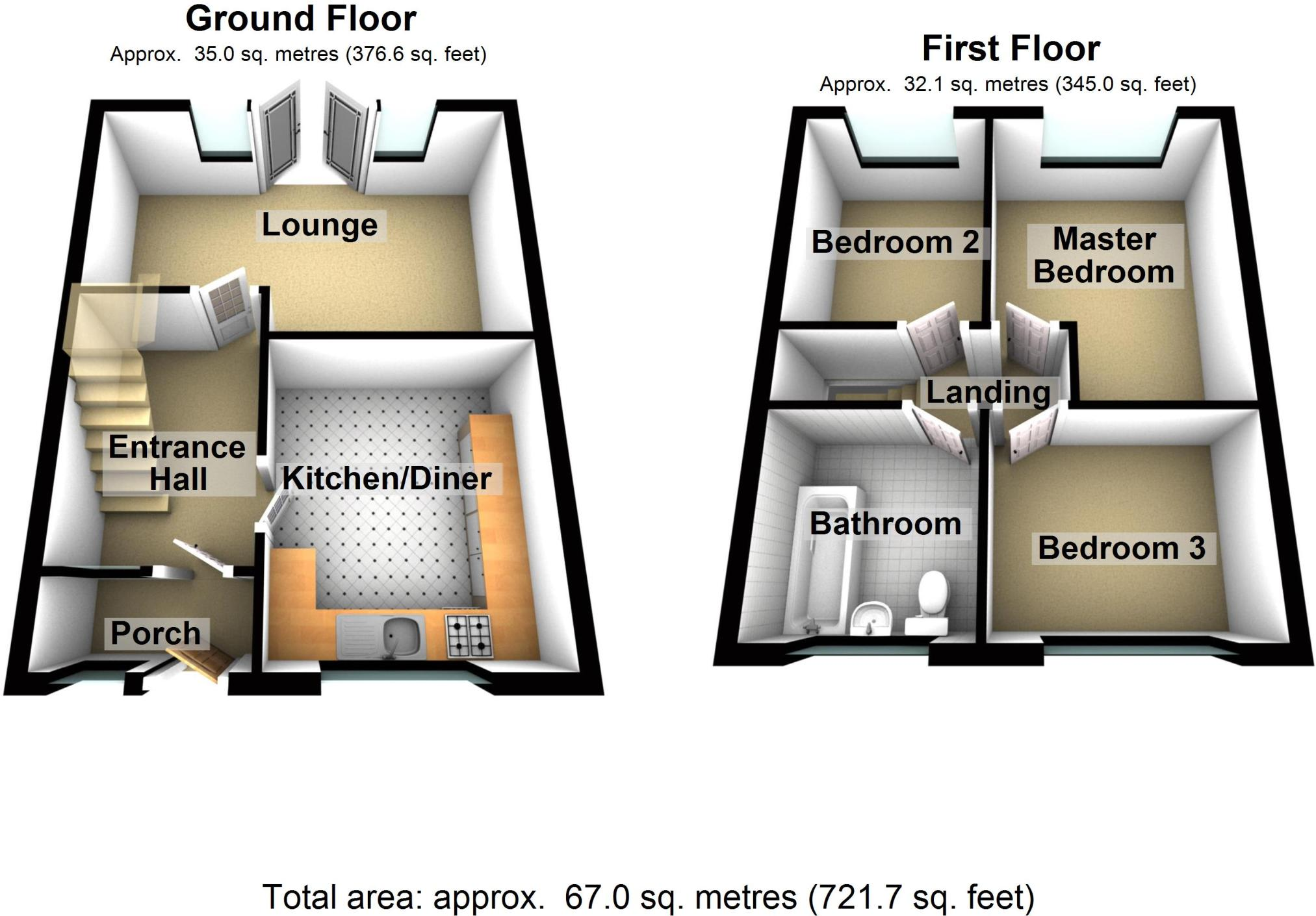 25 Up Down House Design To Complete Your Ideas