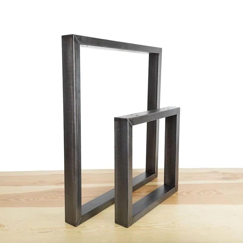 l intrepide pied pour banc ou table en acier
