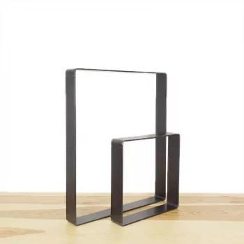 l audacieux pied pour banc ou table en acier