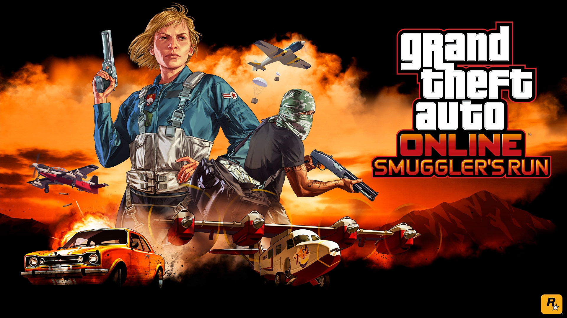Next Up In GTA Online Smugglers Run Watch The Trailer