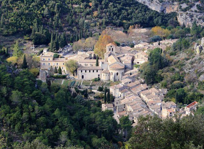 Saint-Guilhem-le-Désert et les gorges de l'Hérault (Hérault)