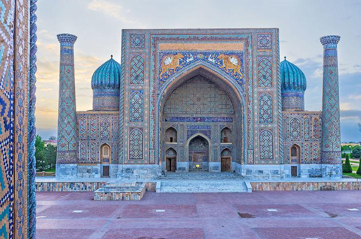 Place du Reghistan, Samarcande - Ouzbékistan