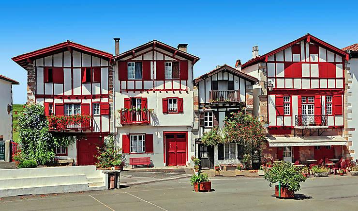 Carte Pays Basque Et Barn Plan Pays Basque Et Barn
