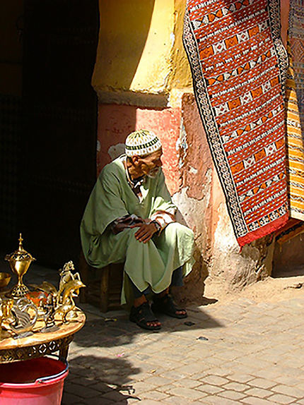 marchand de tapis marrakech maroc
