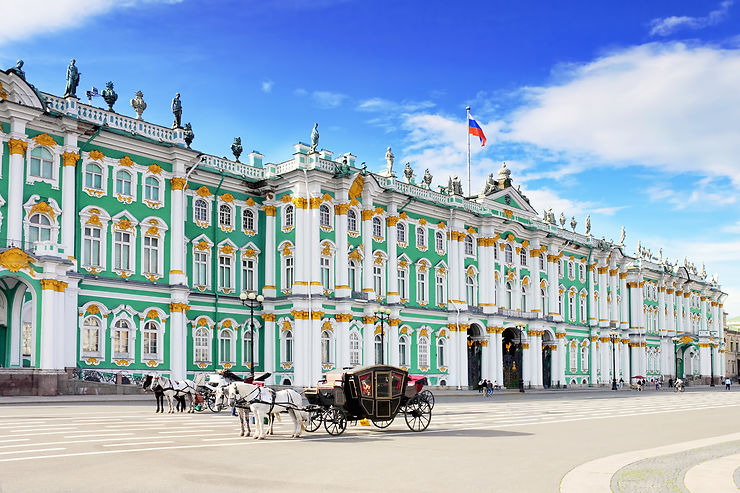 Place du Palais, Saint-Pétersbourg - Russie