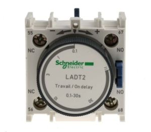 LADT2 | TeSys D Series Analogue (ON Delay) Pneumatic Timer, Range 01 → 30s, NONC Contacts