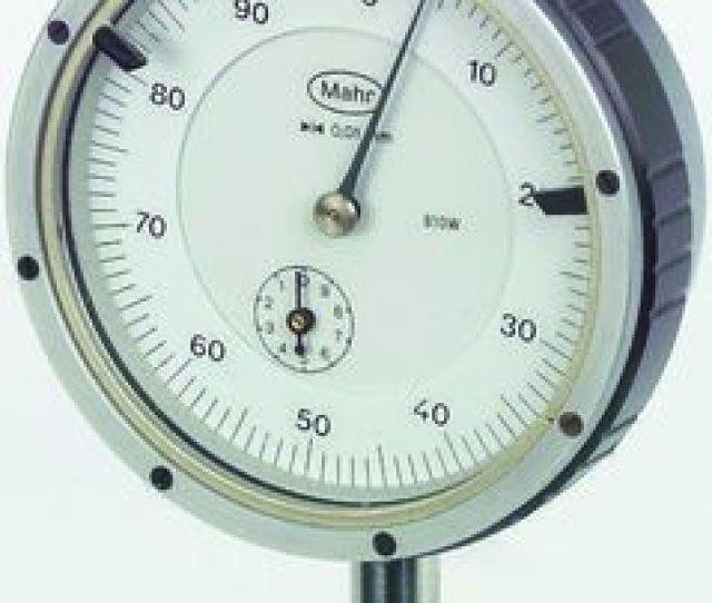 Mahr 810sw Plunger Dial Indicator Range Maximum Of 10 Mm