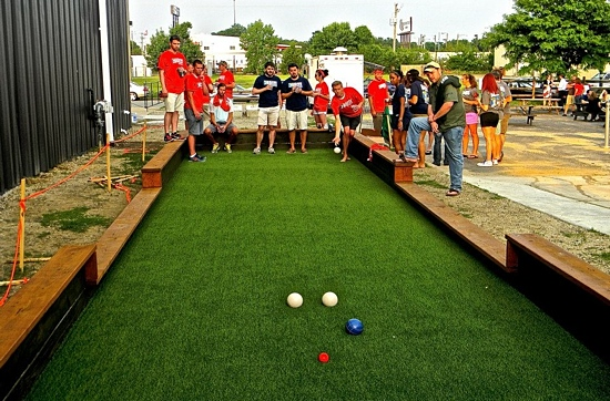 Official Bocce League Rolls Into Town